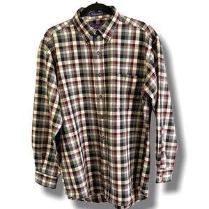 PENDLETON 100% PURE VIRGIN WOOL Men's Plaid Shirt